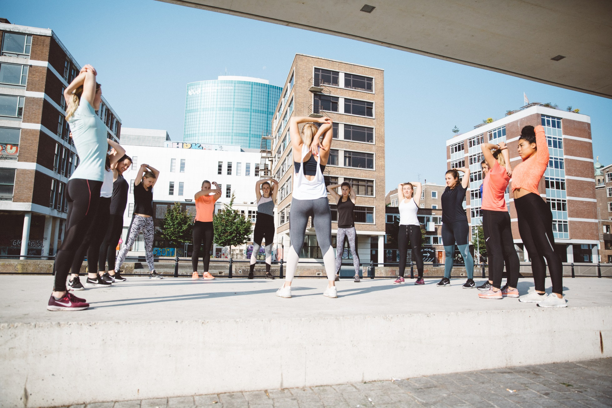 De Happy Fit Challenge bootcamp Rotterdam - Challenge