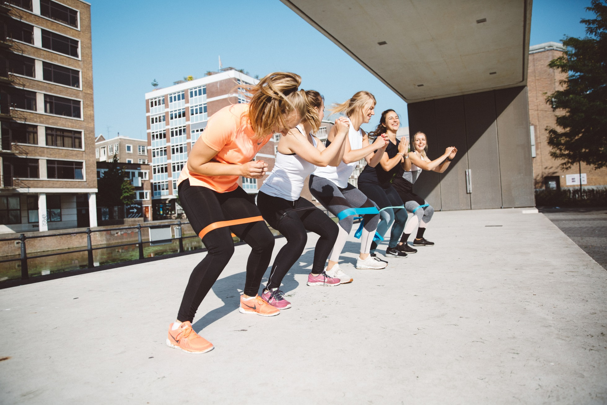 De Happy Fit Challenge bootcamp Rotterdam